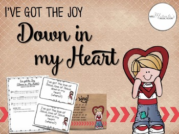 I've Got the Joy Down in my Heart {Songs and Resources for Sunday School}