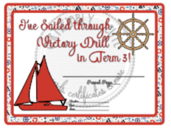 I've Sailed through Victory Drill Set