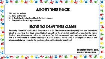 I've lost game print outs