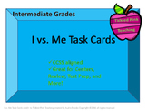 I vs. Me Task Cards