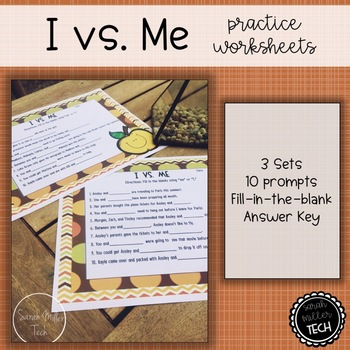 I vs. Me Practice