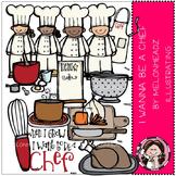 Chef clip art- by Melonheadz