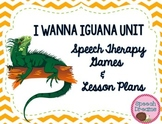 I Wanna Iguana Book Companion {Games Activities Lesson Plans Speech Therapy}