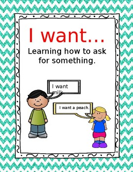 I want: Teaching language learners to say what they want.
