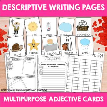 Adjectives in Love (Descriptive Writing)