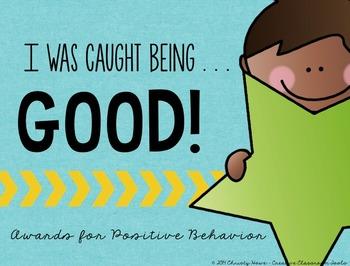 Positive Behavior Awards!
