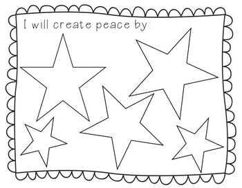 I will create peace by... 9/11 Remembering