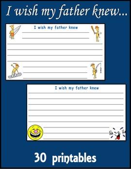 I wish my father knew