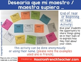 Desearia que mi maestro, maestra supiera (I wish my teache