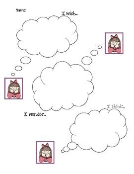 I wish...I wonder...I think...
