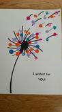 I wished for you Dandelion art