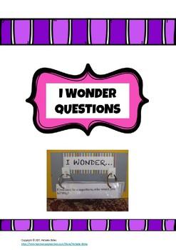 I wonder questions