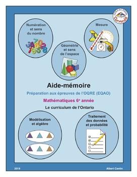 I06-Aide-mémoire en mathématiques 6e année