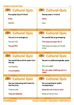 I4M Cultural Quiz: Color (for teacher)