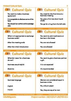 I4M Cultural Quiz: Mono (for student)