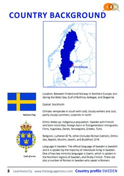 I4M country profile: Sweden