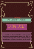 IAL C12 Math Question Papers (2014- June 2017) - without w