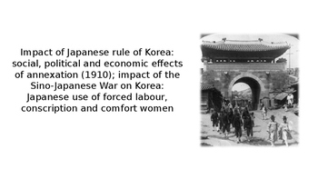 IB A-Level AP Korean History - C20th