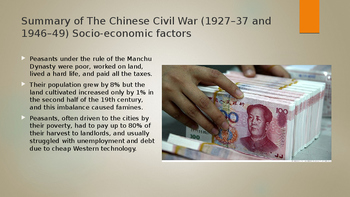 IB, A-Level, AP The Chinese Civil War