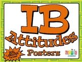 IB ATTITUDES Posters - Dual Language Version!