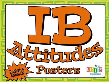 IB ATTITUDES Posters - English & Spanish
