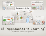 IB 'Approaches to Learning' Classroom Posters