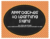 IB Approaches to Learning Signs