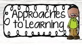 IB Approaches to Learning {Transdisciplinary Skills}