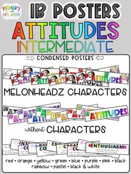 IB Attitude Classroom Signs/Posters