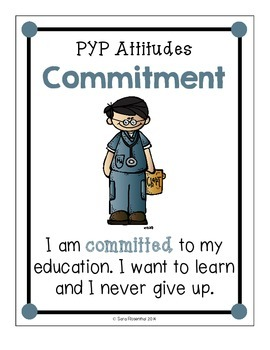 IB Attitude Posters: Kid Friendly Language