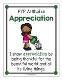 IB Attitude Posters: Kid Friendly Language