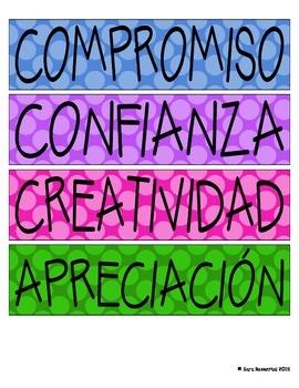 IB Attitude Signs (Spanish)