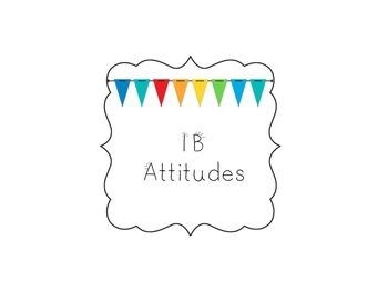 IB Attitude Signs Under the Sea Theme