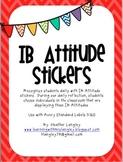 IB Attitude Stickers