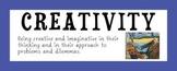 IB Attitude Words with Art Prints