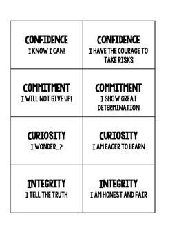 IB Attitude badges