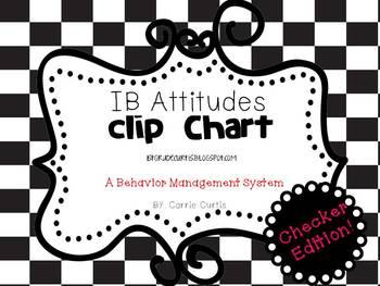 IB Attitudes Clipchart: Checkers Edition!