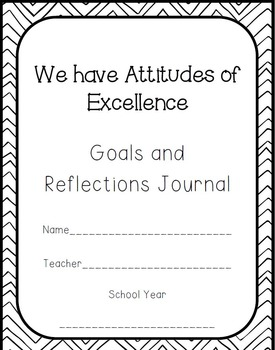 IB Attitudes Reflections and Goal Setting Journal