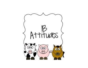 IB Attitudes Signs Farm Animals Theme