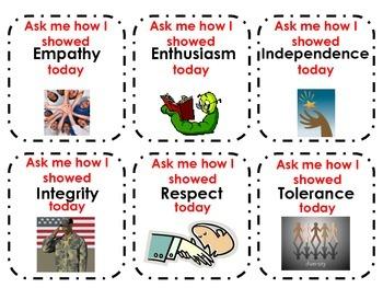 I.B. Attitudes Student Badges