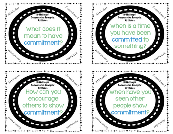 IB Attitudes Writing and Conversation Prompts
