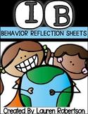 IB Behavior Reflection Sheet