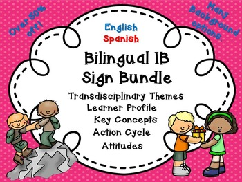 IB Bilingual Bundle!