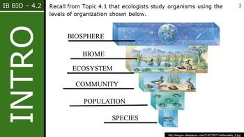 IB Biology (2016) - 4.2 - Energy Flow PPT