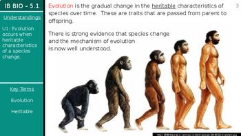 IB Biology (2016) - 5.1 - Evidence for Evolution PPT