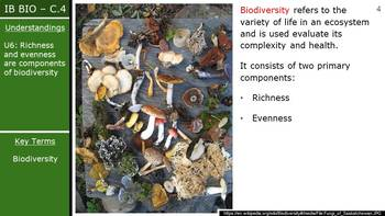 IB Biology (2016) - Option C.4 - Conservation of Biodiversity PPT