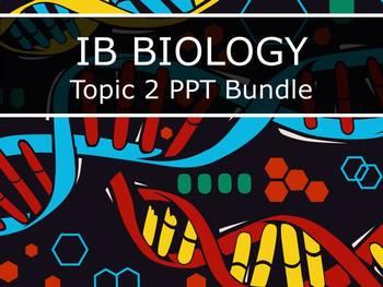 IB Biology (2016) - Topic 2 - Molecular Biology - PPT BUNDLE!