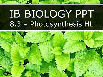 IB Biology (2016) - Topic 8 - Metabolism PPTs BUNDLE