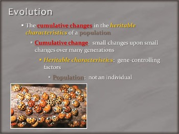 IB Biology - 5.1 - Evolution - Evidence of Evolution - PowerPoint Presentation