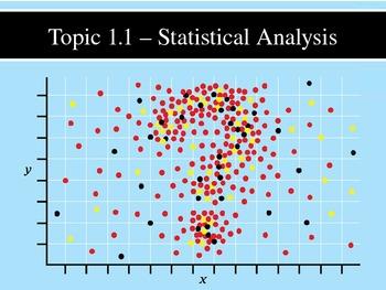IB Biology (2009) - Topic 1.1 - Statistical Analysis PPT